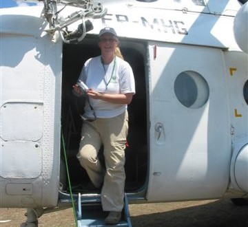 working with various agencies to bring AID in the Tsunami aftermath in Melabouh, Aceh Sumatra 2005